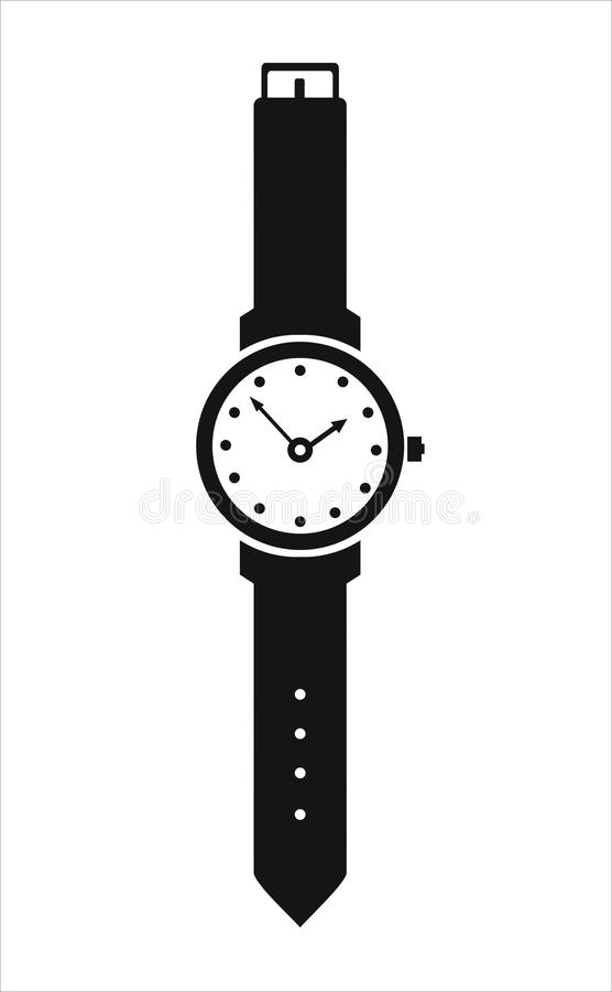 Chiuda su su un fondo bianco illustrazione vettoriale