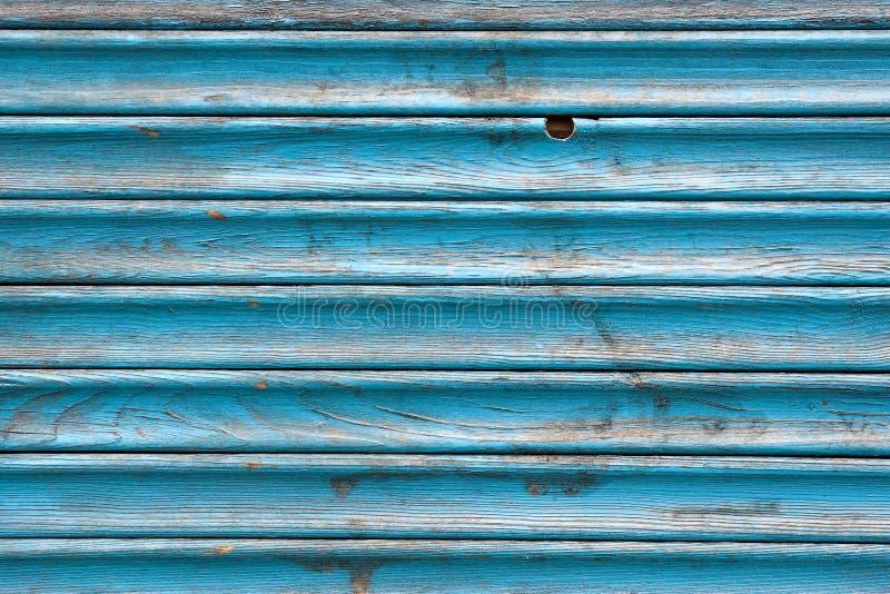 Chiuda sui bordi di legno blu di lerciume fotografie stock libere da diritti
