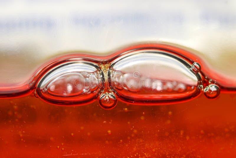 Chiuda sul colpo della bolla di sapone immagine stock