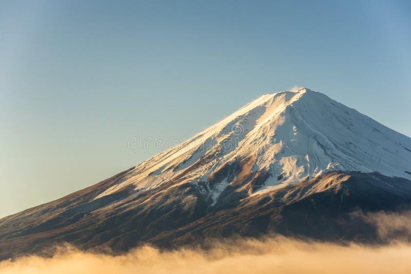 Chiuda sul mT Fuji immagine stock libera da diritti