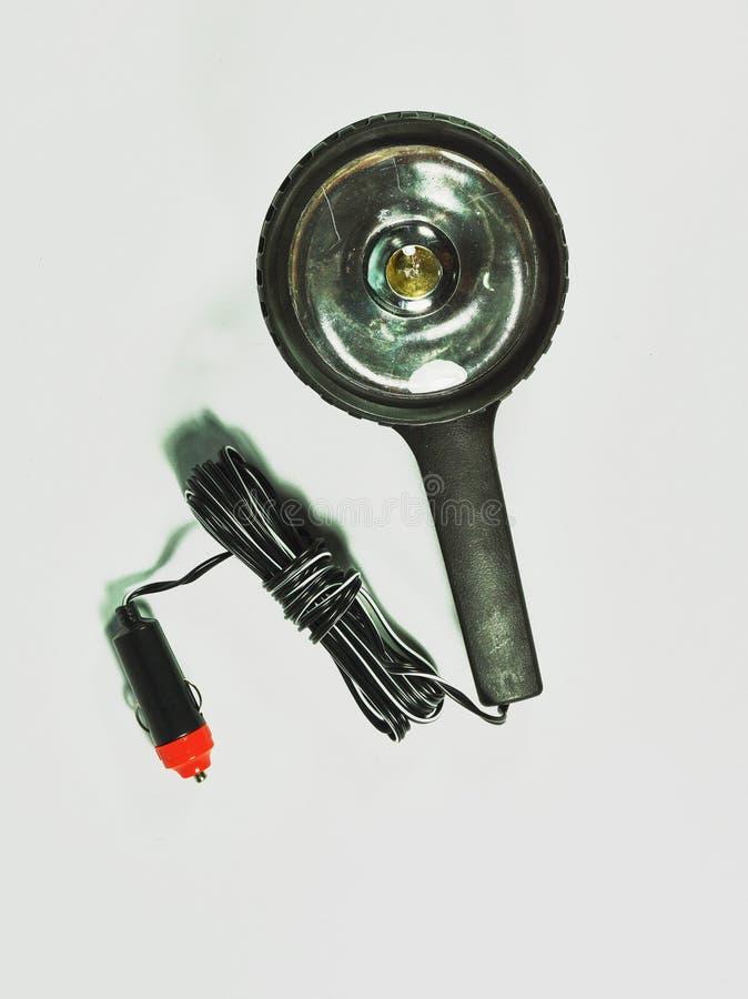 Chiuda sull'immagine della lampada portatile immagine stock libera da diritti