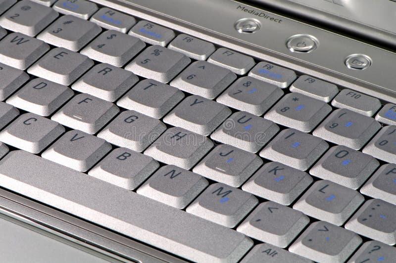 Chiuda sulla tastiera immagine stock libera da diritti