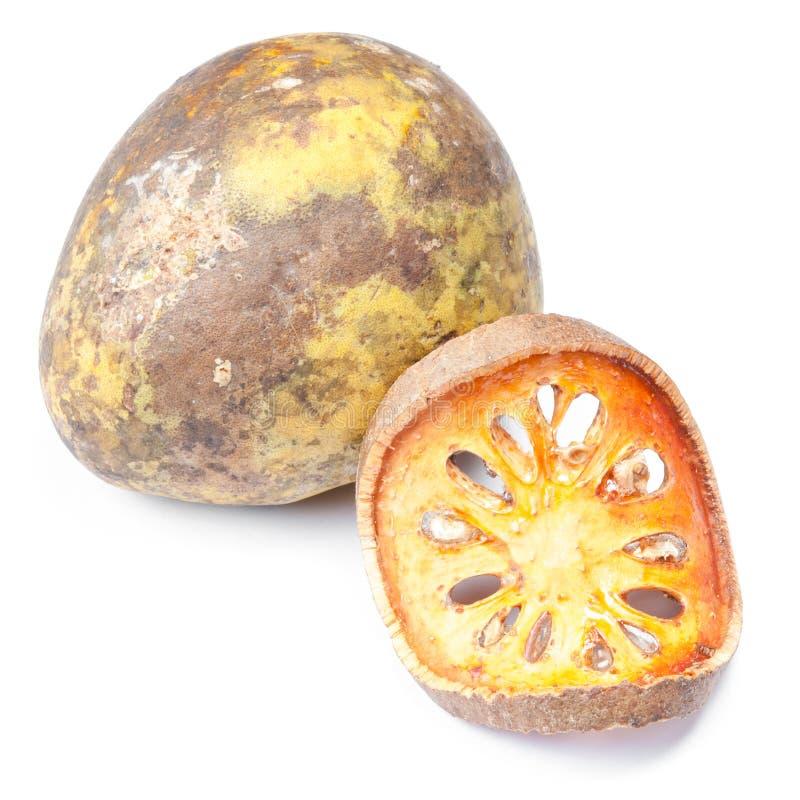 Chiuda sulle fette di frutta secca di cotogno del bengala fotografia stock
