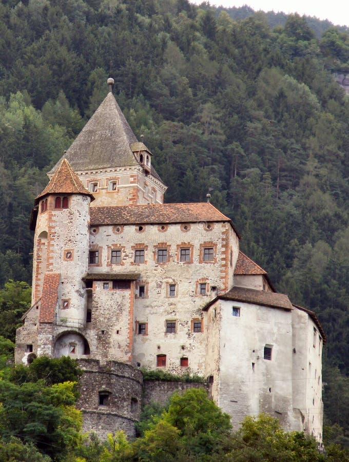 Chiusa Castle stock image