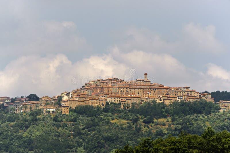 chiusdino Tuscany obrazy stock