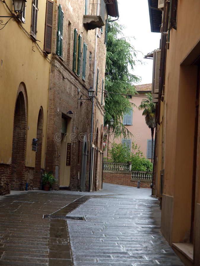 Chiusi. One of the most ancient Etruscan towns in Tuscany, Italy royalty free stock image