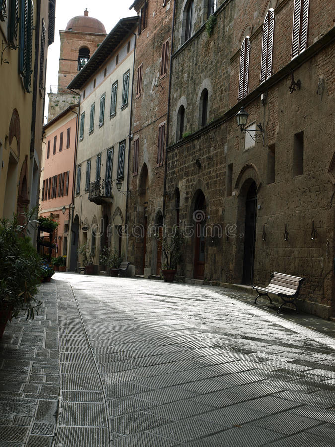 Chiusi. One of the most ancient Etruscan towns in Tuscany, Italy royalty free stock photos