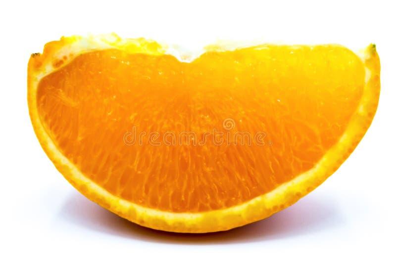 Chiusura di un bordo arancione fotografie stock libere da diritti