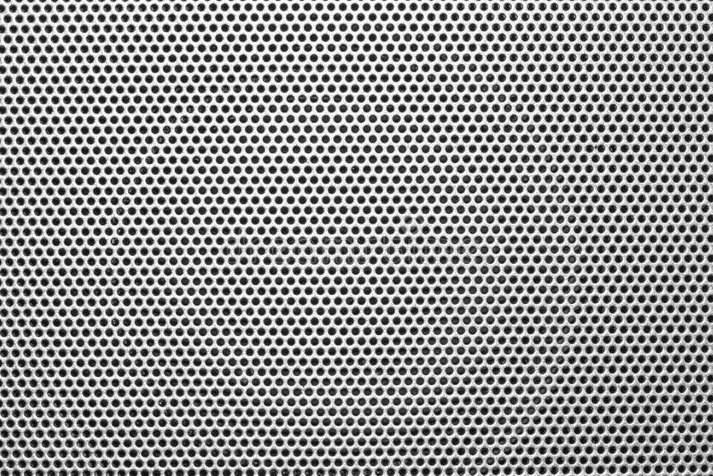 Chiusura di una griglia metallica trama immagini stock libere da diritti