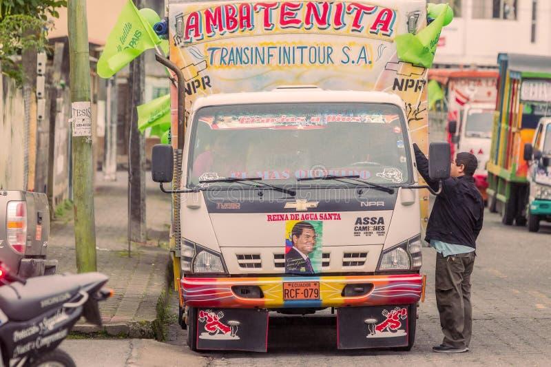 Chiva, le symbole de la culture colombienne photos libres de droits