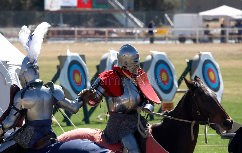 Download Chivalry stock image. Image of field, pauldron, shield - 1714499