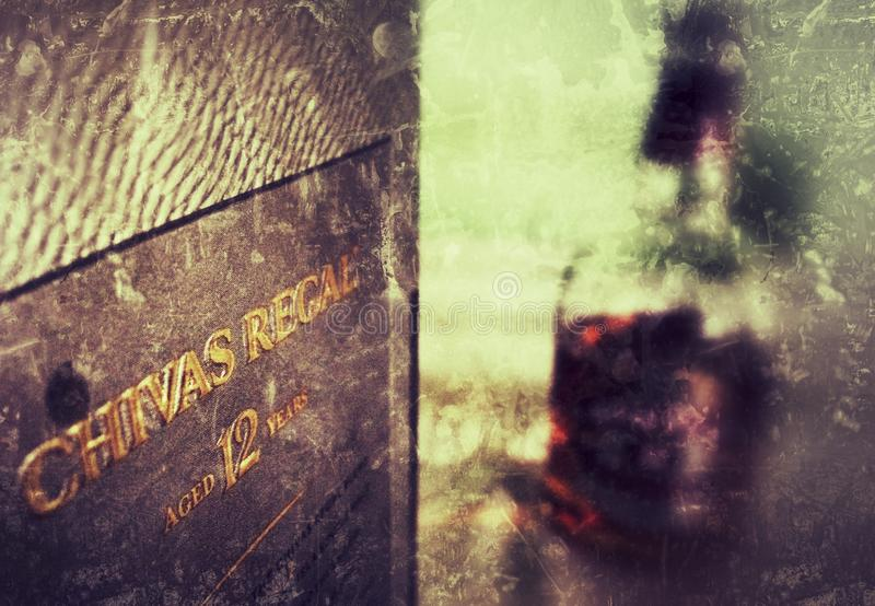 Chivas Regal lizenzfreies stockbild