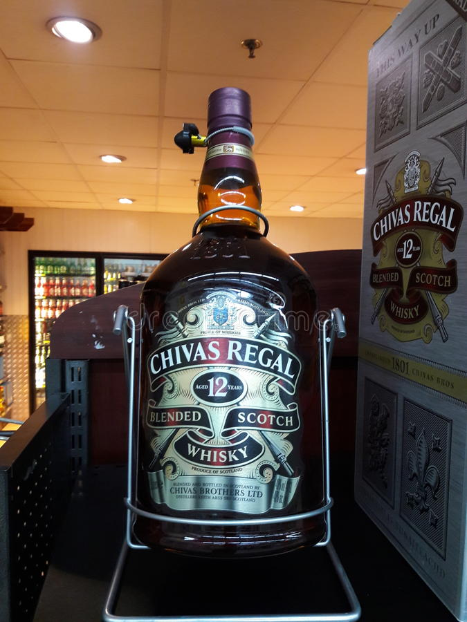 Chivas Regal stock images