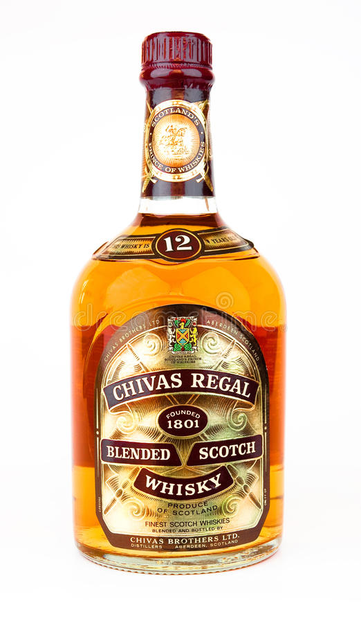 Free Chivas Regal Blended Scotch Whiskey. Stock Images - 18078934