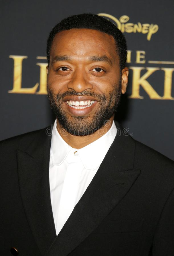 Chiwetel Ejiofor imagens de stock royalty free