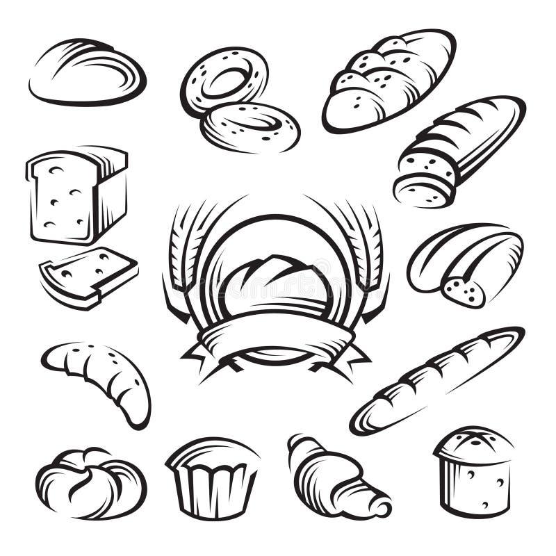 chleb ilustracja wektor