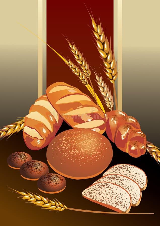 chleb. ilustracji