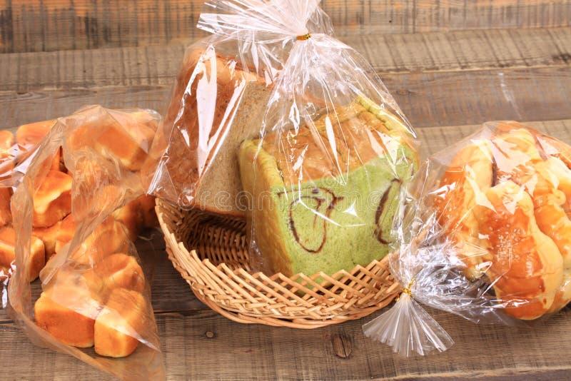 Chleb i muffins obraz stock