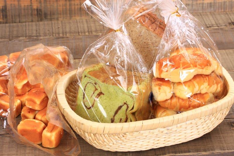 Chleb i muffins obrazy royalty free