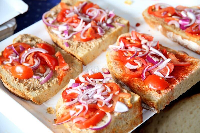 Chleb i obcieknięcie obraz stock