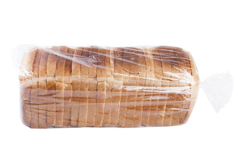 Chleb na bielu zdjęcia royalty free