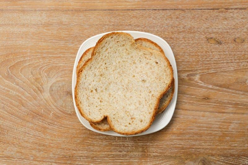 Chleb na stole zdjęcie stock