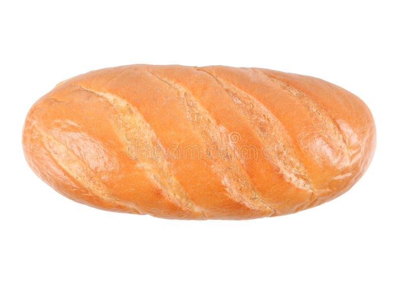 Chleb odizolowywający na białym backgroung obraz stock