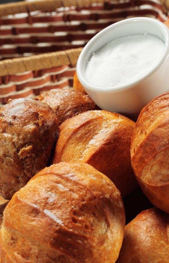chleb piec sól świeżo zdjęcia royalty free