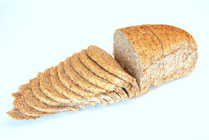 chleb pokrajać fotografia royalty free