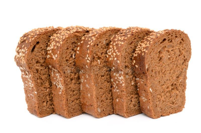 chleb pokrajać obrazy royalty free