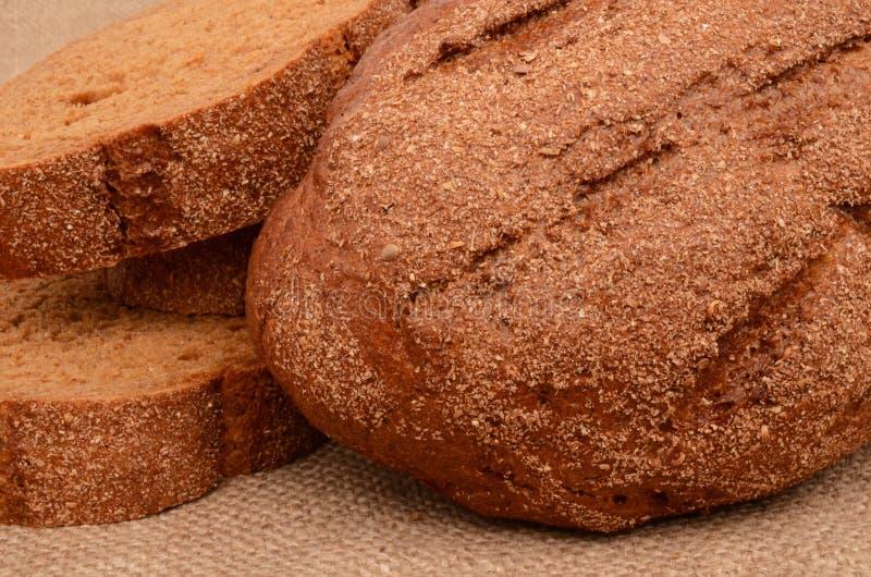 chleb pokrajać obraz royalty free