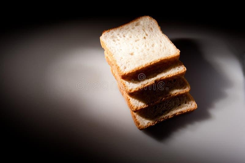 Download Chleb pokrajać biel zdjęcie stock. Obraz złożonej z nikt - 13336160