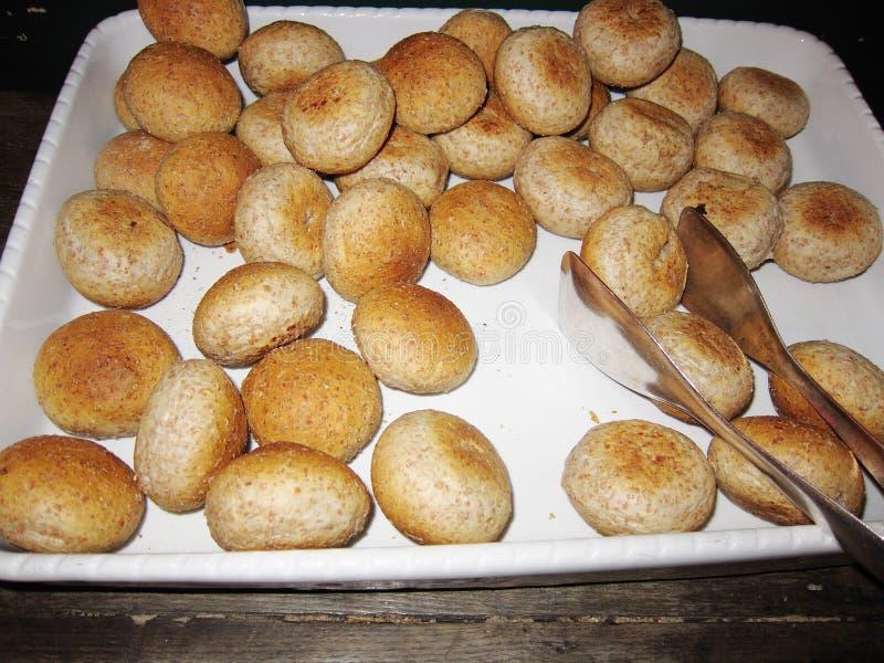 Chleb próżnuje dla śniadania zdjęcie stock