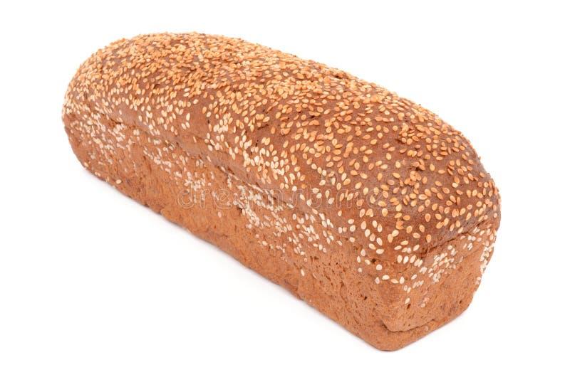 chleb tła żywności drugi widzą obrazów white obraz stock