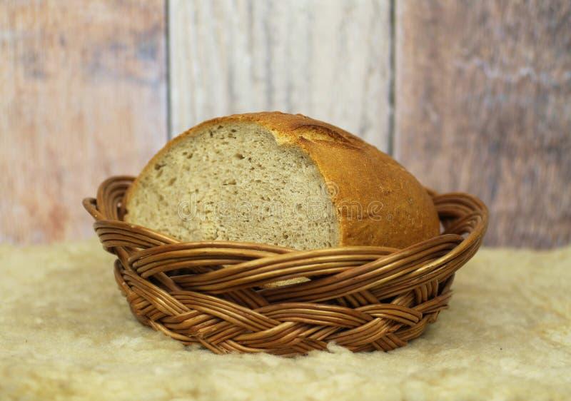 Chleb w łozinowym zatapia obraz stock