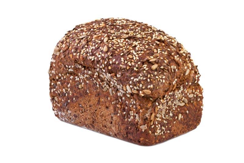 Chleb z lnów ziarnami fotografia royalty free
