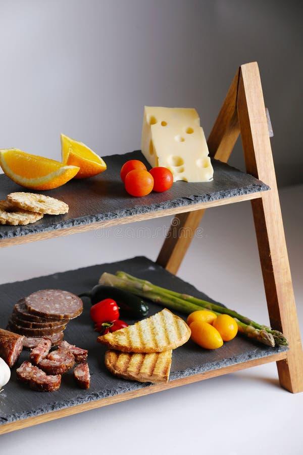 Chleb z Salami zdjęcie royalty free