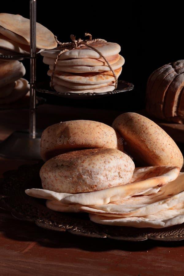 chleba stół zdjęcia royalty free