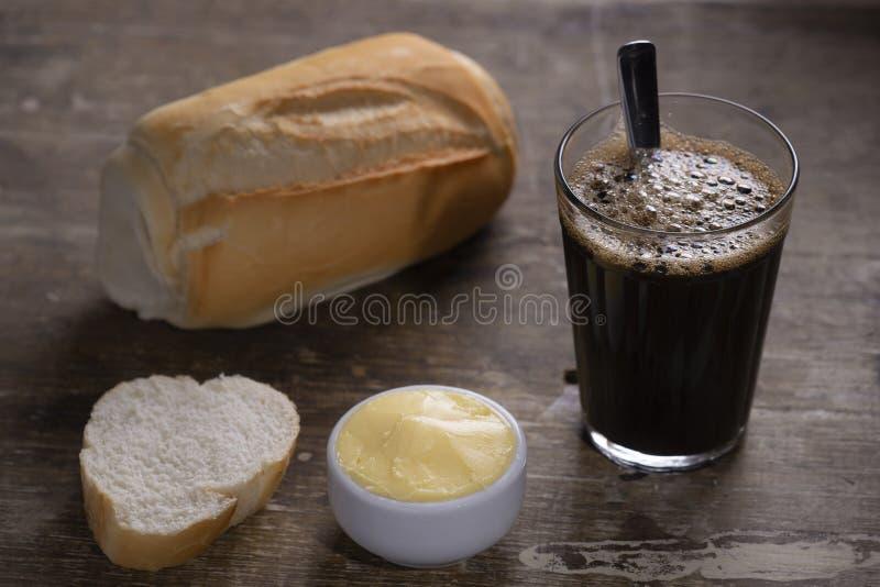 chlebowa kawa zdjęcie royalty free