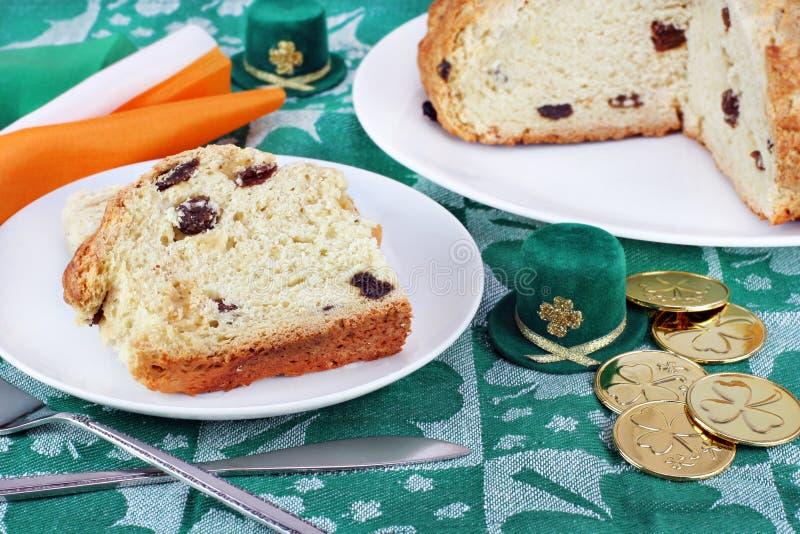 chlebowego dzień irlandzki Patrick s sody st zdjęcia royalty free