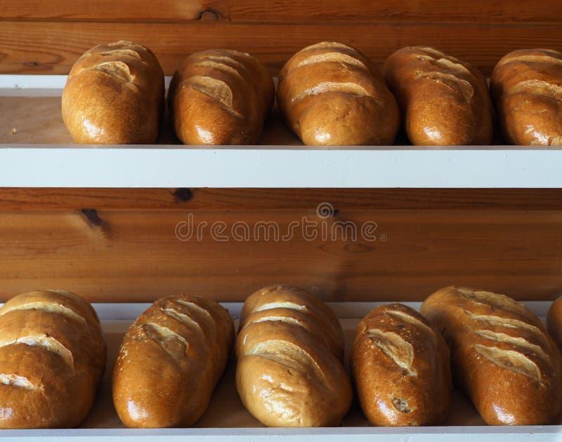 chlebowi bochenki zdjęcia royalty free
