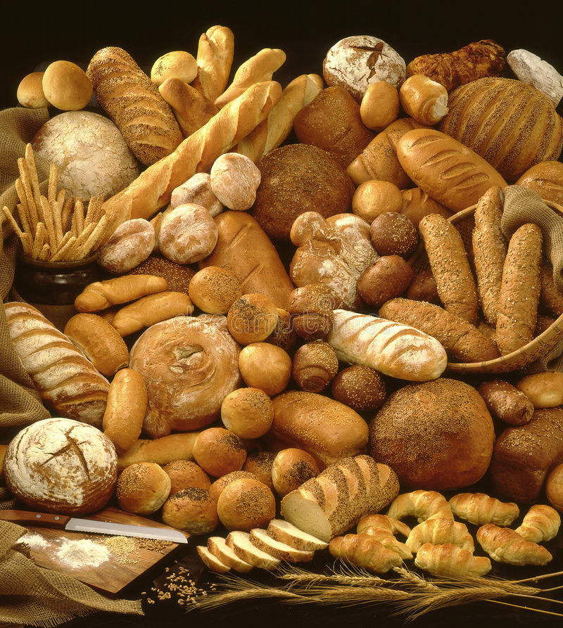 chlebowi bochenki fotografia royalty free