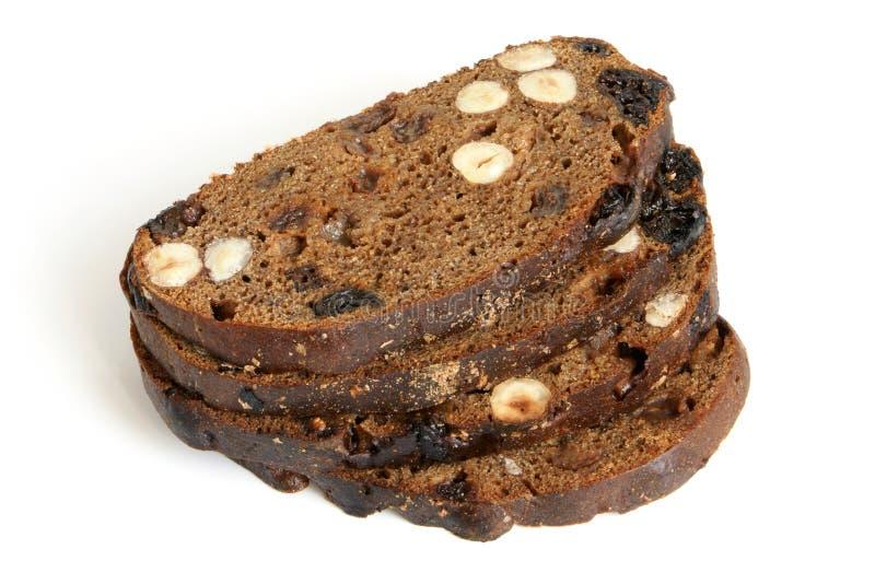 chlebowy owoc hazelnuts żyto obraz stock