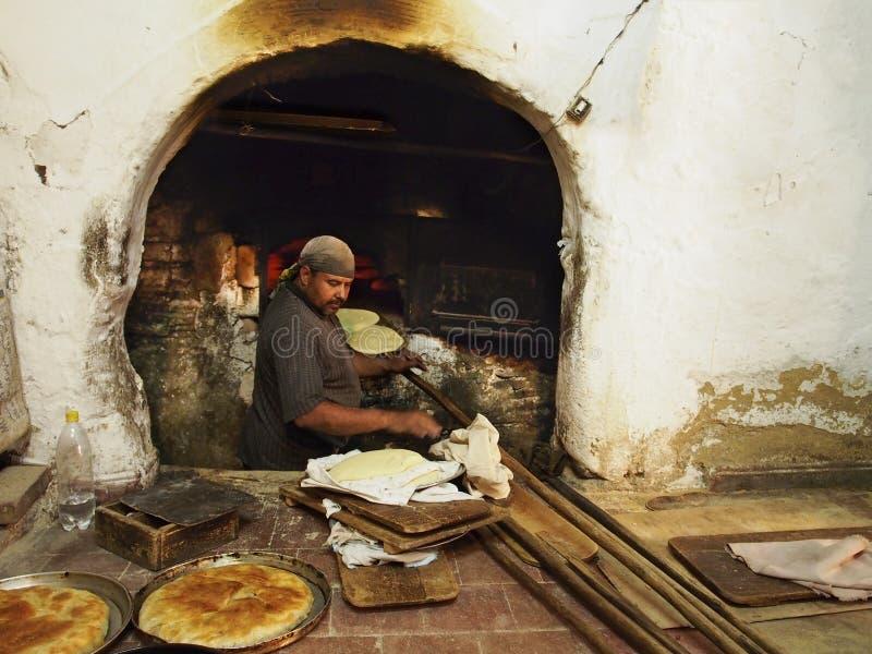 Chlebowy piekarz zdjęcia royalty free