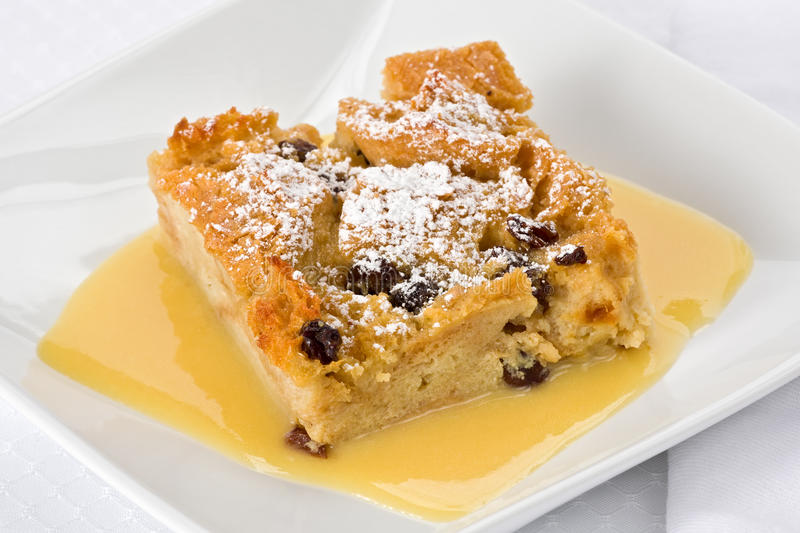 chlebowy pudding obrazy royalty free
