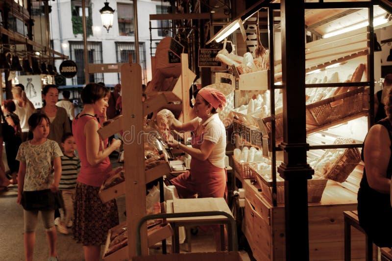 chlebowy sklep obraz royalty free
