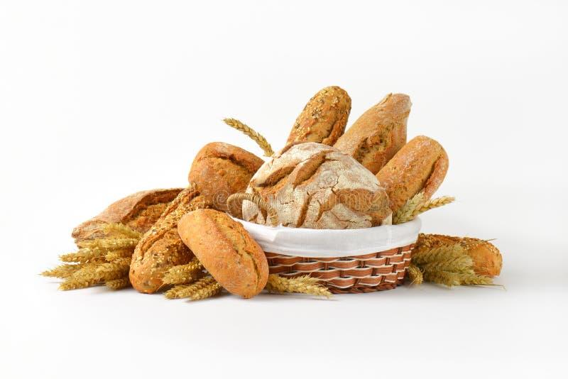 chleby różnorodni zdjęcie stock