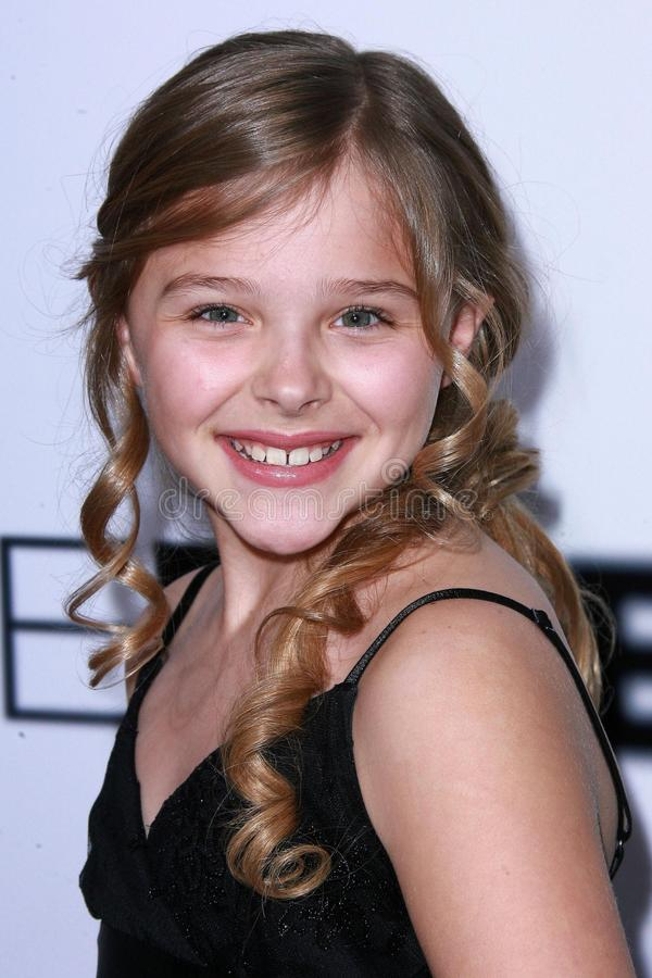 Chloe Grace Moretz royalty-vrije stock foto's