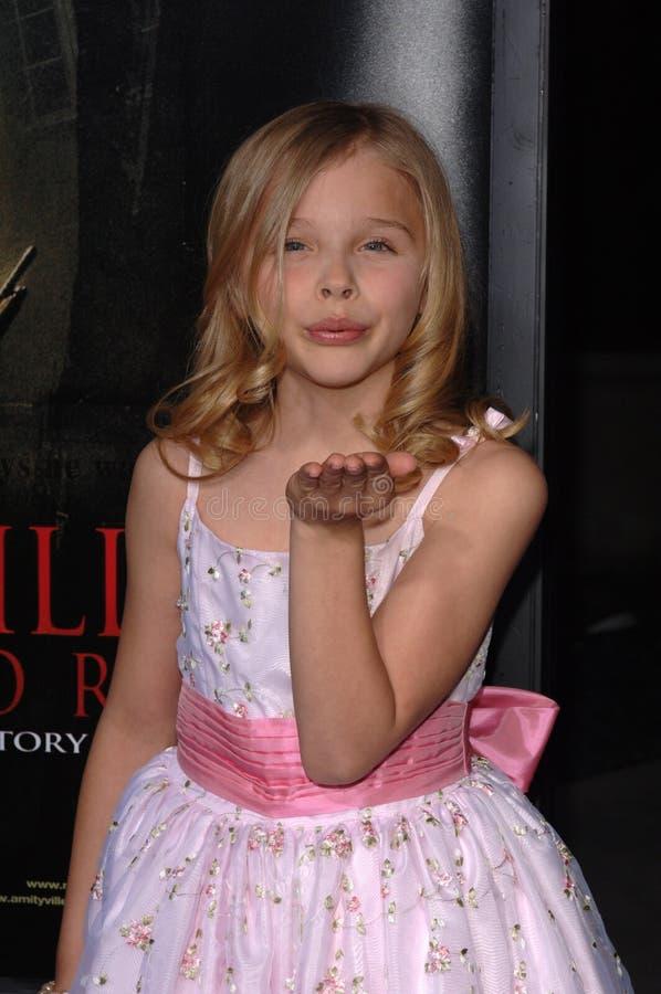 Chloe Grace Moretz royalty-vrije stock foto's