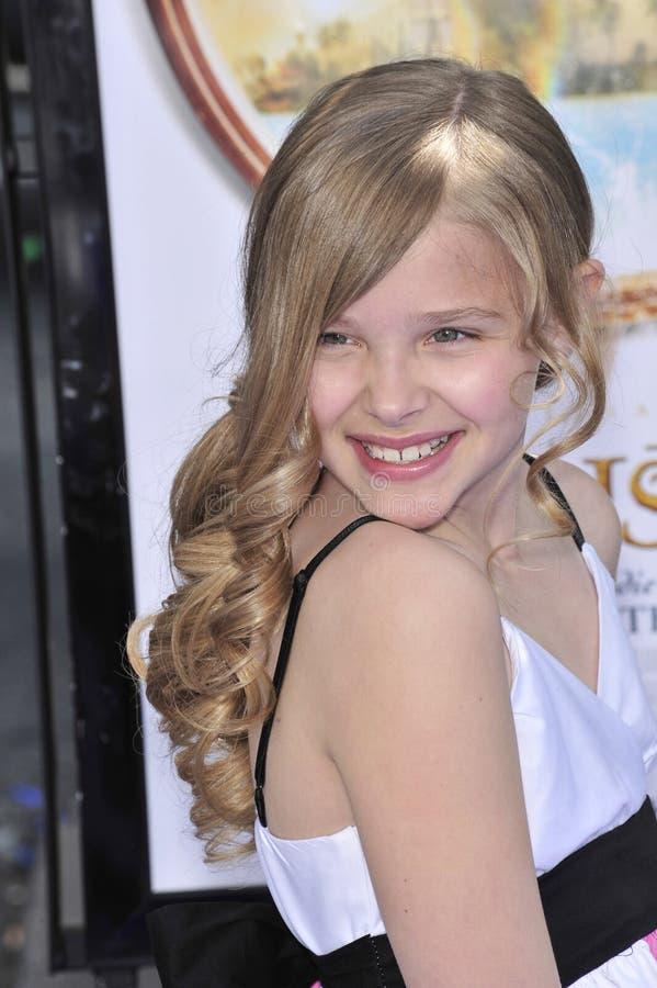 Chloe Moretz royalty-vrije stock foto